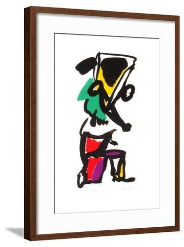 Portraits I : le Colonel Chabert-Charles Lapicque-Framed Art Print