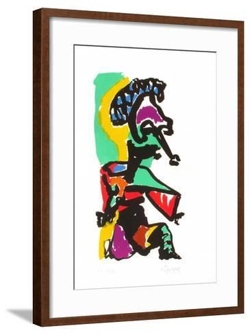 Portraits I : le Chef humili?-Charles Lapicque-Framed Art Print