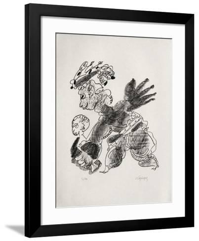 Portraits VIII : Pygmalion-Charles Lapicque-Framed Art Print