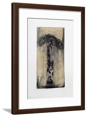 Stèle-Alexis Gorodine-Framed Art Print