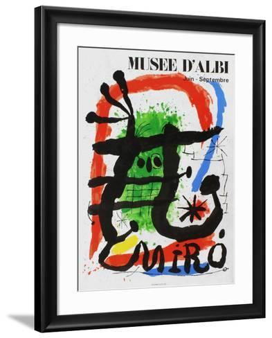 Expo 81 - Mus?e d'Albi-Joan Mir?-Framed Art Print