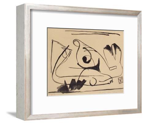 MP 002-Bram van Velde-Framed Art Print