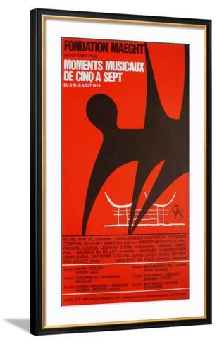 Expo 74 - Fondation Maeght-Alexander Calder-Framed Art Print