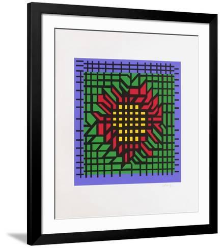 Katzag-Victor Vasarely-Framed Art Print