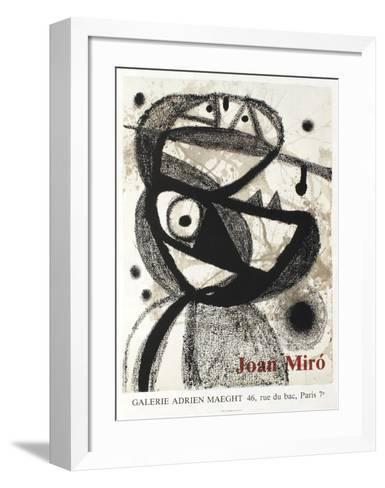 Expo 83 - Galerie Maeght-Joan Mir?-Framed Art Print