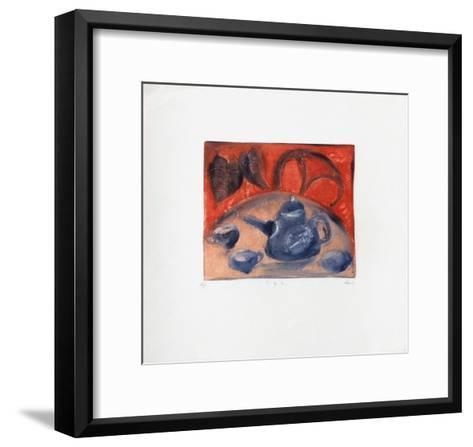 Th?-Lou G^ (Lupita Gorodine)-Framed Art Print