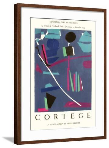 Expo 59 - Chez Pierre B?r?s Cort?ge-Andr? Lanskoy-Framed Art Print