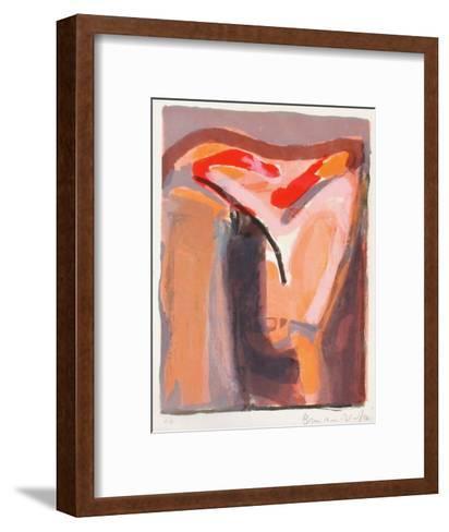 MP 090 Le crimed'une nuit-Bram van Velde-Framed Art Print