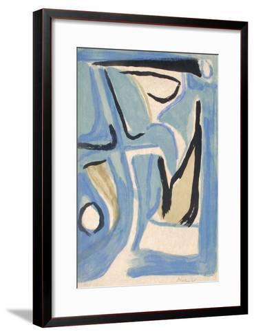 MP 309-Bram van Velde-Framed Art Print