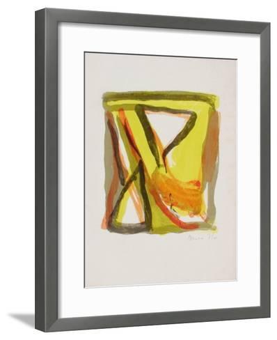 MP 208 Vif-Bram van Velde-Framed Art Print