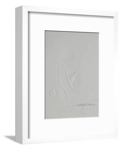 Embossing I--Framed Art Print