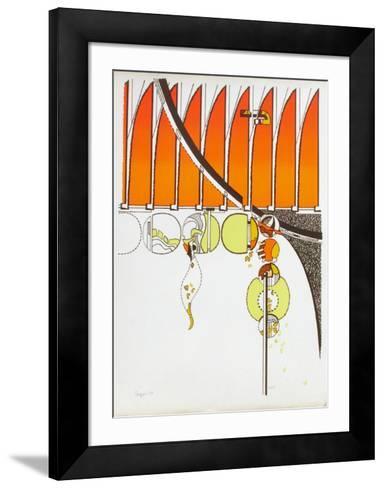 Composition II-Iaroslav Serpan-Framed Art Print