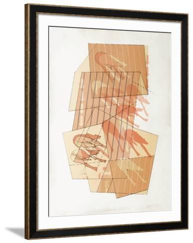 La casa de los animales-Edmundo Aquino-Framed Art Print