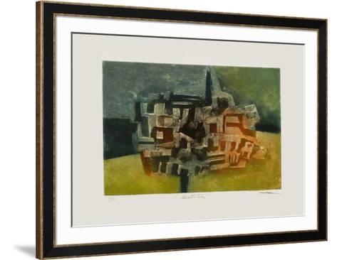 Estructura-J?sus Iraizoz-Framed Art Print