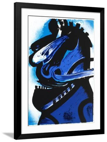 Portrait ?clat? VI-John Christoforou-Framed Art Print