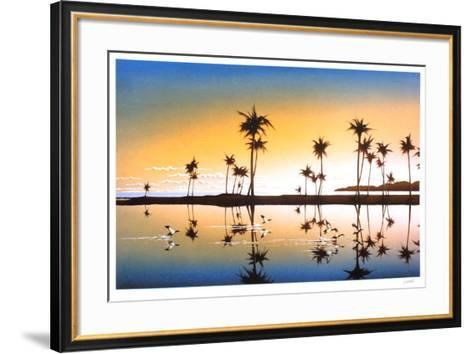 Les palmiers-Daniel Sciora-Framed Art Print
