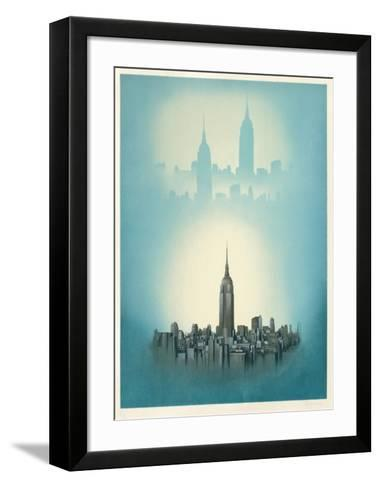New York-Irena Dedicova-Framed Art Print