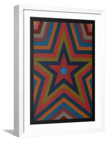 Five Pointed Star with Color Bands-Sol Lewitt-Framed Art Print