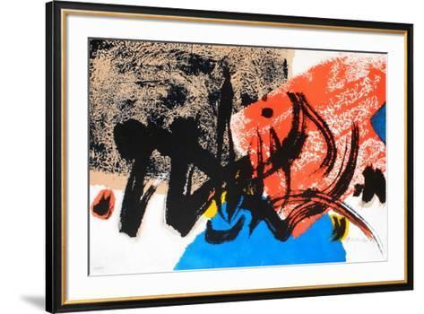 Composition-Ko Chu-Framed Art Print