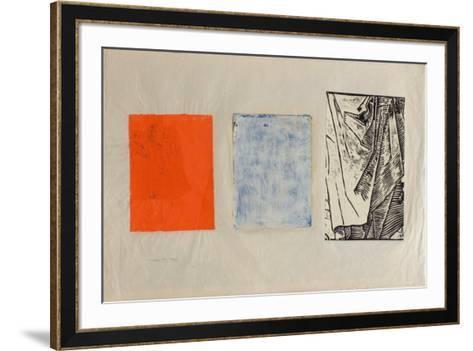 Rouge bleu noir-G?rard Traquandi-Framed Art Print