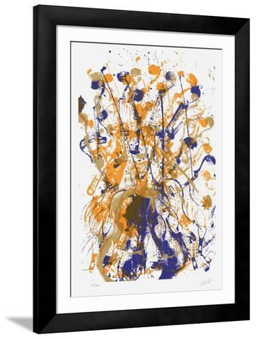 Trio cordes I-Fernandez Arman-Framed Art Print