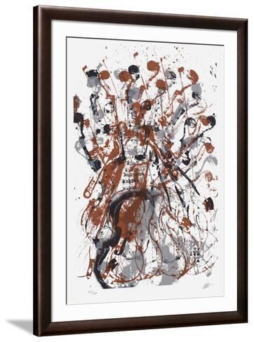 Trio cordes II-Fernandez Arman-Framed Art Print