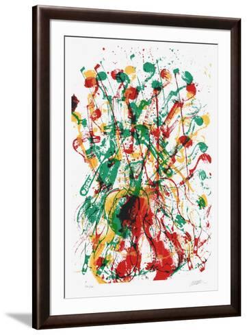 Trio cordes III-Fernandez Arman-Framed Art Print