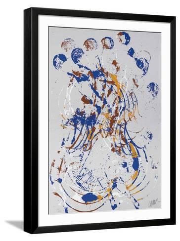 Melody for strings II-Fernandez Arman-Framed Art Print
