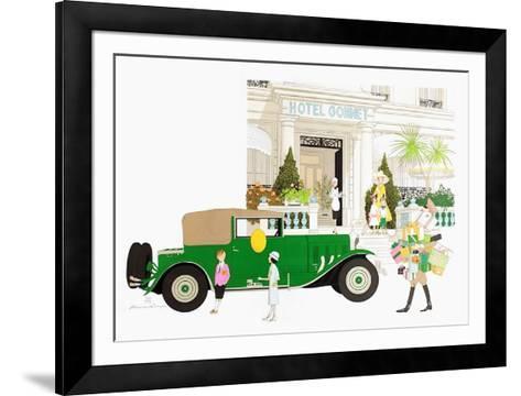 H?tel Gonnet ? Cannes-Philippe Noyer-Framed Art Print
