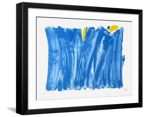 Signe paysage bleu-Olivier Debre-Framed Art Print