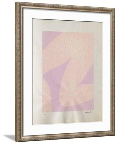 Anne : genou et tâches blanches-Robert Malaval-Framed Art Print