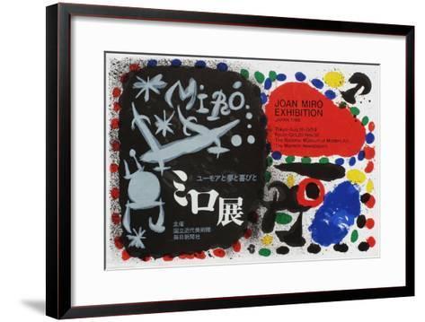 Expo 66 - Tokyo National Museum of Modern Art-Joan Mir?-Framed Art Print