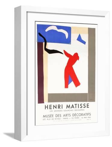 Expo 61 - Mus?e des Arts D?coratifs-Henri Matisse-Framed Art Print