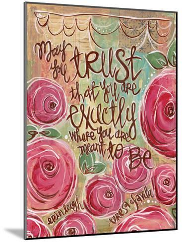 Trust-Erin Butson-Mounted Art Print