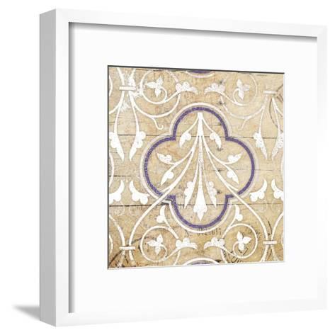 Purple Pattern 7-Jace Grey-Framed Art Print