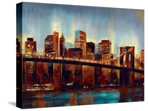 Panoply Scrapers-Sunny-Stretched Canvas Print