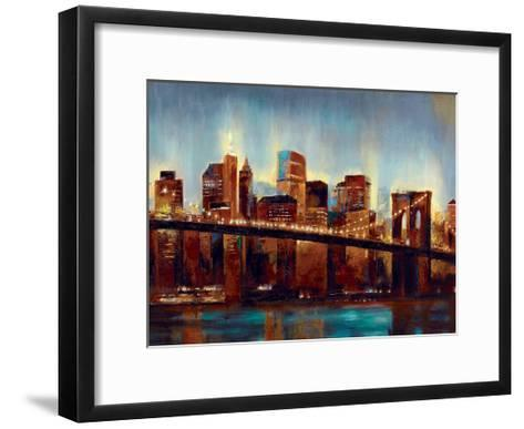Panoply Scrapers-Sunny-Framed Art Print