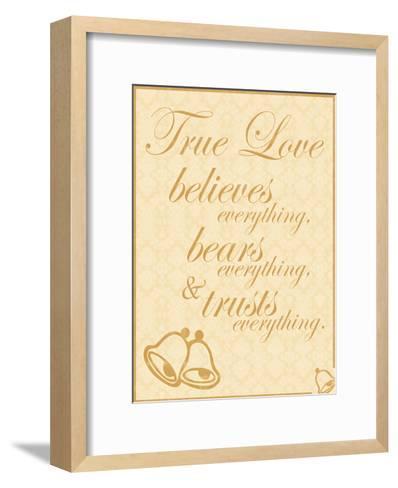 True Love B-Lauren Gibbons-Framed Art Print