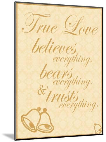 True Love B-Lauren Gibbons-Mounted Art Print