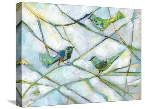A Little Bird Told Us-Smith Haynes-Stretched Canvas Print