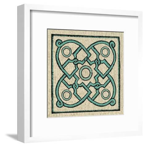 Woodcut 7-Tina Carlson-Framed Art Print