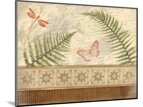 Spice Ferns-Jace Grey-Mounted Art Print