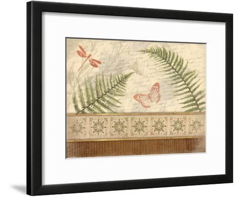 Spice Ferns-Jace Grey-Framed Art Print