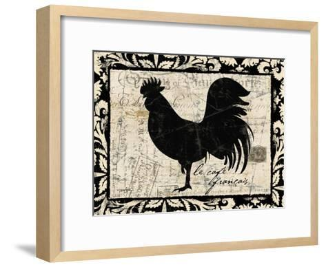 Le Cafe Francais-Diane Stimson-Framed Art Print