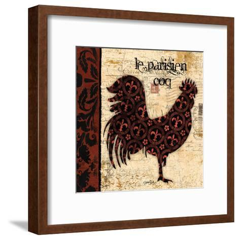 Parisien Coq-Diane Stimson-Framed Art Print