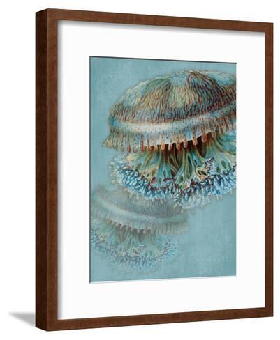 Blue Sea-Jace Grey-Framed Art Print
