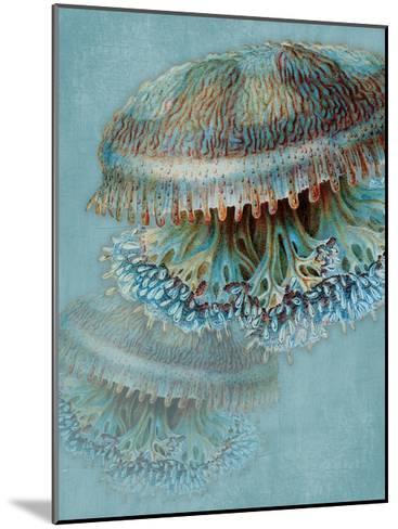 Blue Sea-Jace Grey-Mounted Art Print