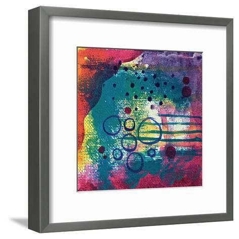 Purple Cave-Pam Varacek-Framed Art Print