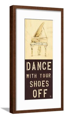 Dance With Your Shoes Off-Kelsey Hochstatter-Framed Art Print