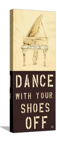 Dance With Your Shoes Off-Kelsey Hochstatter-Stretched Canvas Print
